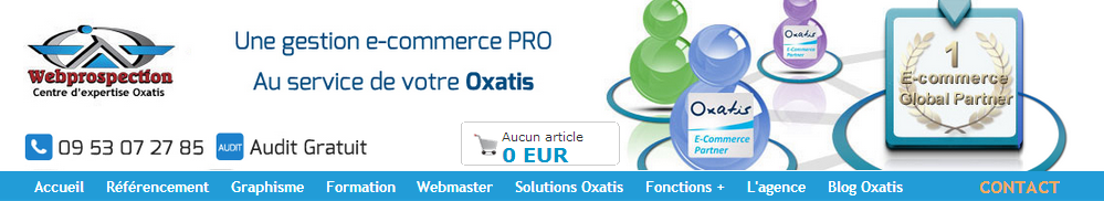 Header GESTION ECOMMERCE
